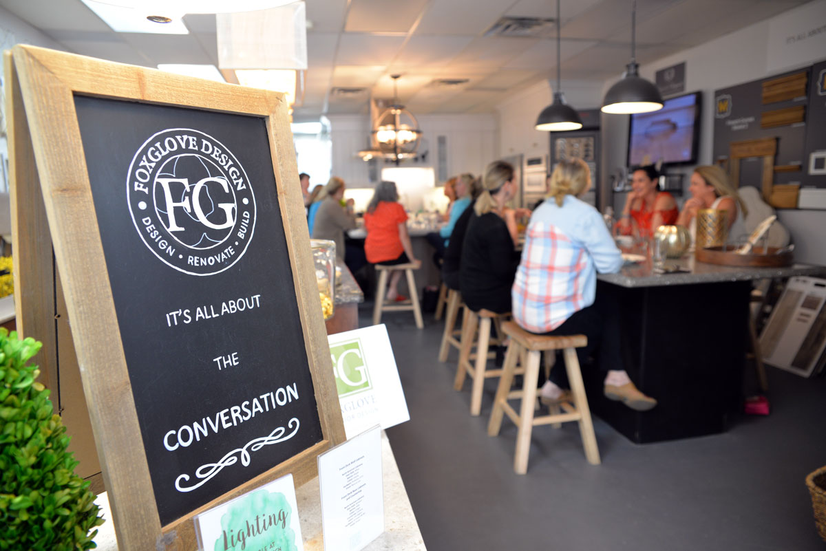 Foxglove's Designer Tuesday Lunch