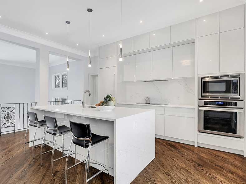 Kitchen Renovation by Foxglove Design Inc in Aurora